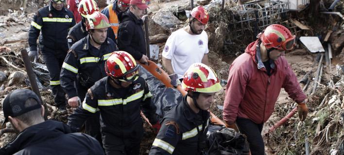 Δυτ. Αττική: Βρήκαν έναν ακόμη νεκρό -20 τα θύματα της πλημμύρας [εικόνες]