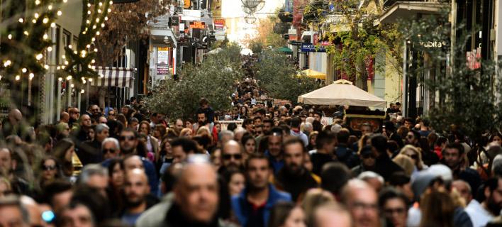 Για το 55% των επιχειρήσεων οι πωλήσεις είτε αυξήθηκαν είτε παρέμειναν στάσιμες, Φωτογραφία: eurokinissi
