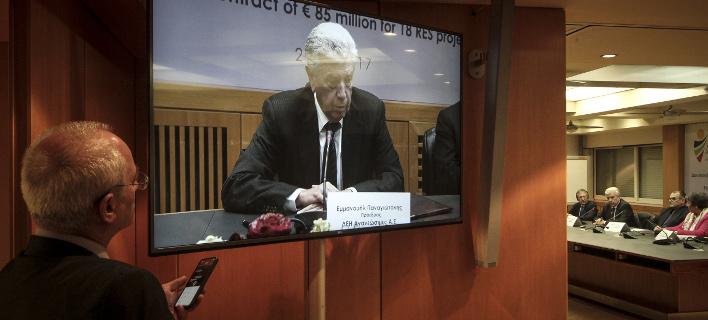 Τι επεσήμανε ο πρόεδρος και διευθύνων σύμβουλος της ΔΕΗ, φωτογραφία: eurokinissi