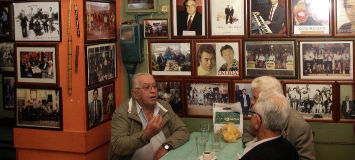 Καφενείο των Μουσικών, Σατωβριάνδου 29 & Μενάνδρου, Φωτογραφίες: ΧΡΗΣΤΟΣ ΜΠΟΝΗΣ//EUROKINISSI