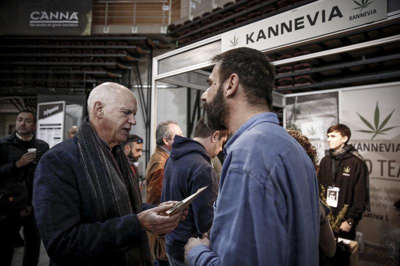 4341283 iefimerida - Γιώργος Παπανδρέου και Νίκος Καρανίκας στην πρώτη έκθεση κάνναβης στην Ελλάδα