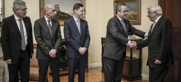Στο Προεδρικό Μέγαρο, Φωτογραφίες: EUROKINISSI/ΣΤΕΛΙΟΣ ΜΙΣΙΝΑΣ