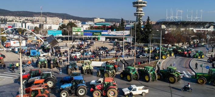 «Απόβαση» αγροτών το Σάββατο στη Θεσσαλονίκη -Με τρακτέρ και πούλμαν