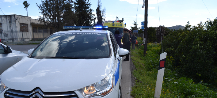Οι αστυνομικές αρχές του νησιού ερευνούν την υπόθεση, φωτογραφία: eurokinissi