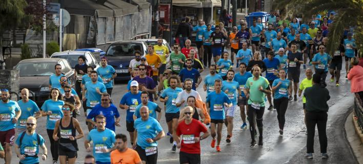 «SNF RUN - Τρέχοντας προς το μέλλον», φωτογραφία: eurokinissi