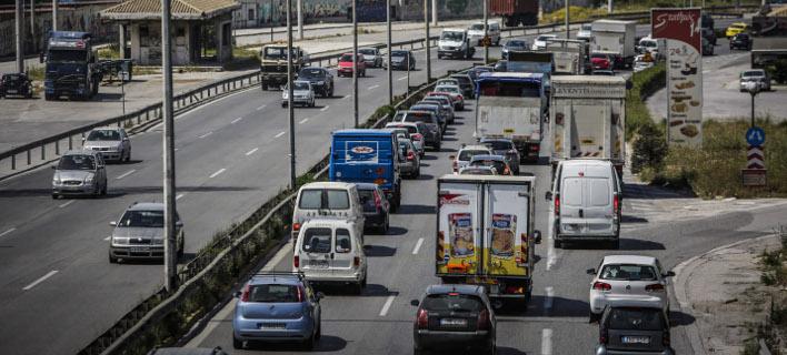 Προβλήματα στους δρόμους, Φωτογραφία:  EUROKINISSI/ΣΤΕΛΙΟΣΜΙΣΙΝΑΣ