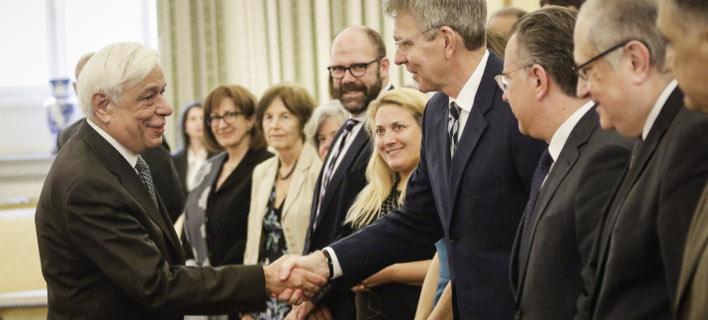 Στο προεδρικό Μέγαρο, φωτογραφίες: EUROKINISSI/ΠΑΝΑΓΟΠΟΥΛΟΣ ΓΙΑΝΝΗΣ