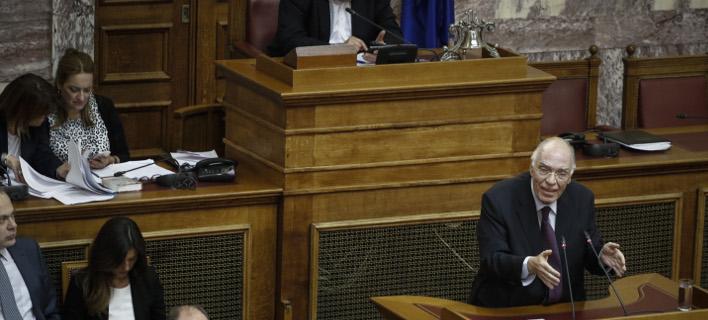 «Ο Ζάεφ αποκάλεσε το δικό του λαό Μακεδόνες και εμάς Έλληνες», Φωτογραφία: eurokinissi