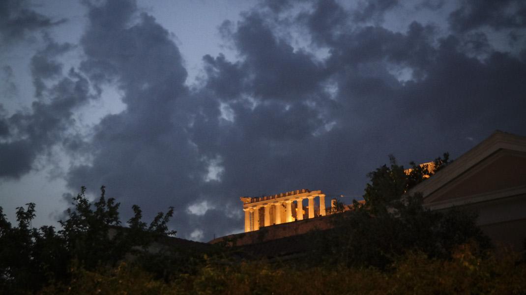Η κακοκαιρία «χτύπησε» την Αθήνα, φωτογραφία: EUROKINISSI/ΓΙΩΡΓΟΣ ΚΟΝΤΑΡΙΝΗΣ