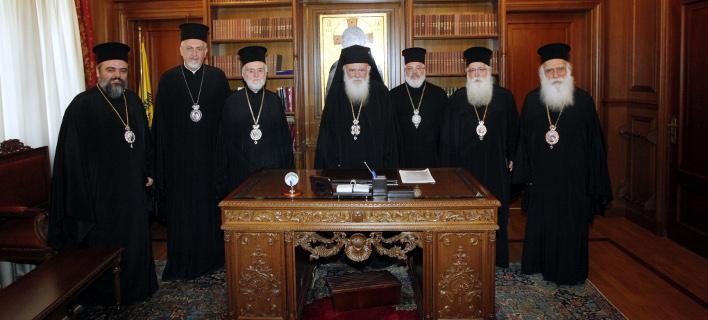 Ανακοίνωση από την εκκλησία της Ελλάδος, φωτογραφία: ΧΡΗΣΤΟΣ ΜΠΟΝΗΣ, eurokinissi