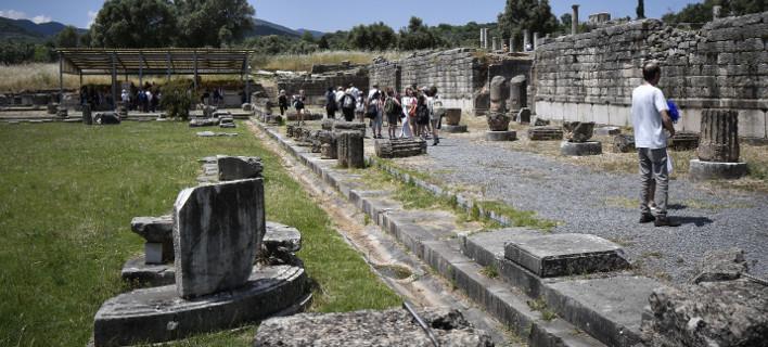Αρχαία Μεσσήνη, φωτογραφία: ΑΝΤΩΝΗΣ ΝΙΚΟΛΟΠΟΥΛΟΣ/EUROKINISSI