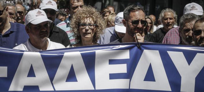 Η Α.Δ.Ε.Δ.Υ. κηρύσσει Πανελλαδική στάση εργασίας από τις 12:00 μέχρι τη λήξη του ωραρίου, φωτογραφία: eurokinissi