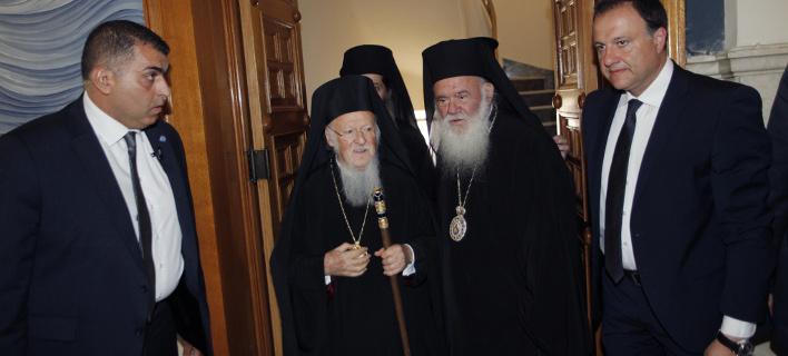 Στην Αθήνα ο Οικουμενικός Πατριάρχης Βαρθολομαίος, Φωτογραφία: eurokinissi / ΧΡΗΣΤΟΣ ΜΠΟΝΗΣ