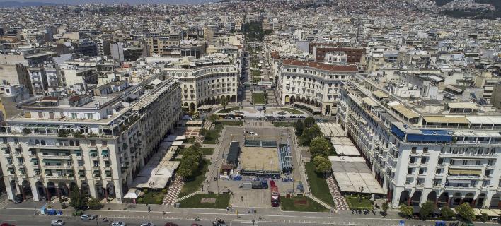 Η πόλη της Θεσσαλονίκης έχει ανάγκη από έναν οργανωμένο σχεδιασμό, Φωτογραφία: eurokinissi