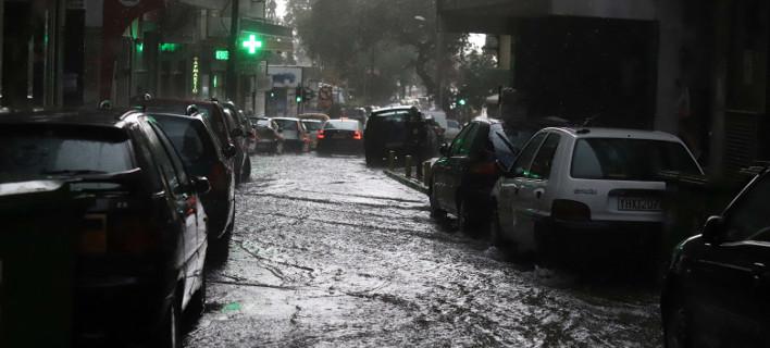 Πολλες αστραπές και βροχή, φωτογραφία: eurokinissi
