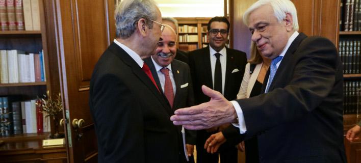 Επιβεβαίωσαν τις ήδη πολύ καλές σχέσεις Ελλάδας και Τυνησίας, φωτογραφία: eurokinissi ΠΑΝΑΓΟΠΟΥΛΟΣ ΓΙΑΝΝΗΣ
