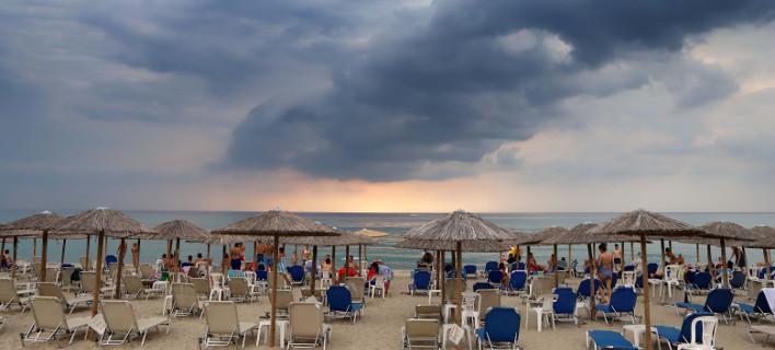 Σε αρκετές περιοχές θα βρέξει την Τετάρτη (Φωτογραφία: EUROKINISSI)