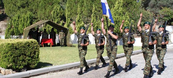 Στρατιώτες, φωτογραφία: Eurokinissi/ΓΕΣ