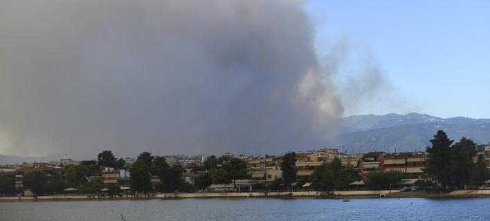 Σύμφωνα με το Χάρτη Πρόβλεψης Κινδύνου Πυρκαγιάς, Φωτογραφία: Eurokinissi/ΚΑΡΑΓΙΑΝΝΗΣ ΜΙΧΑΛΗΣ