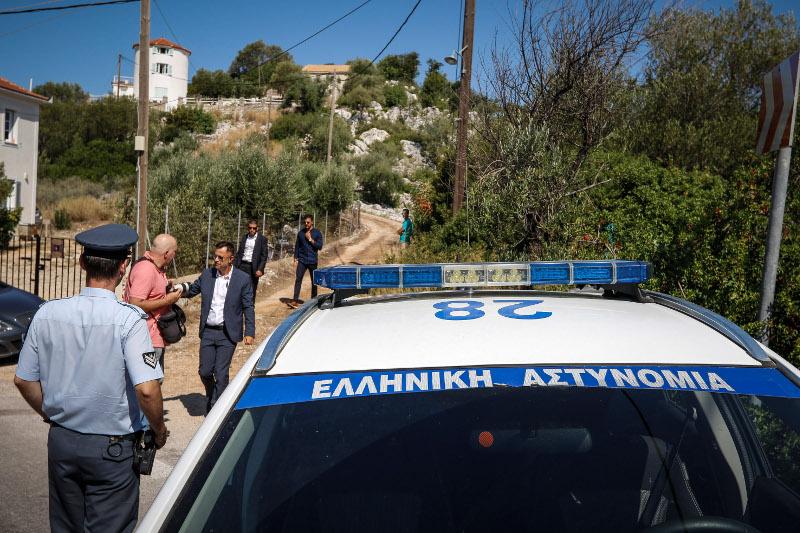 Η αστυνομία απαγόρεψε την πρόσβαση των εκπροσώπων των ΜΜΕ στο σημείο