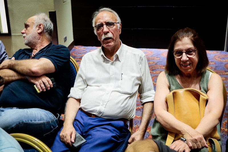 Ο Δημήτρης Βίτσας στην ΚΕ του ΣΥΡΙΖΑ -Eurokinissi/ΚΟΝΤΑΡΙΝΗΣ ΓΙΩΡΓΟΣ