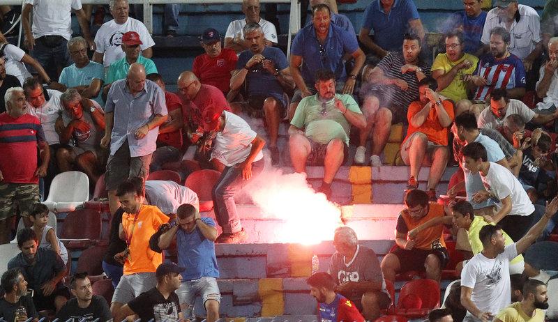 Το περιστατικό σημειώθηκε χτες κατά τη διάρκεια του αγώνα Πανιώνιος-ΠΑΟΚ.