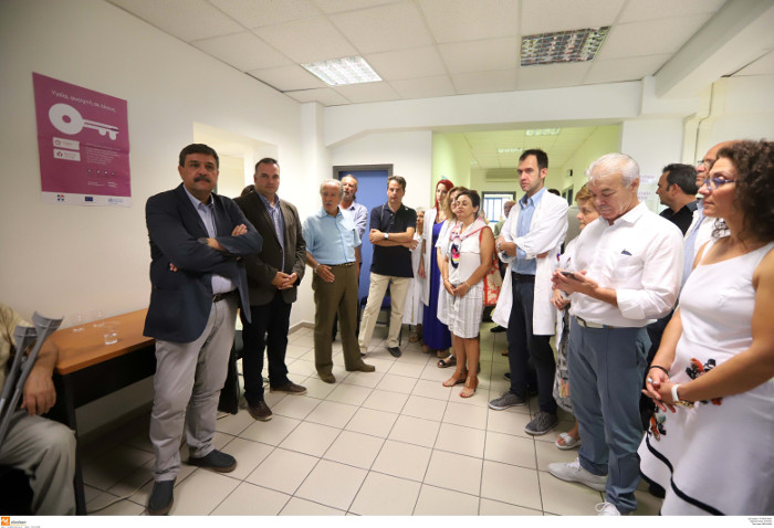 Την 4η και 5η Τοπική Μονάδα Υγείας εγκαινίασε ο υπουργός Υγείας, Ανδρέας Ξανθός