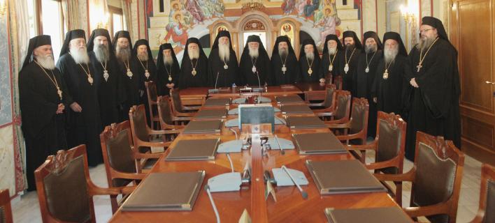Υπό την αιγίδα του Αρχιεπισκόπου, φωτογραφία: eurokinissi /ΧΡΗΣΤΟΣ ΜΠΟΝΗΣ