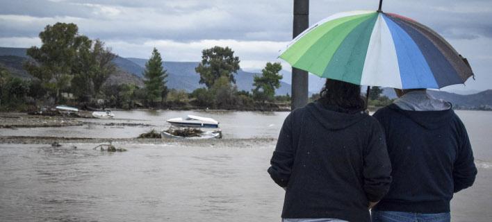 Πλημμύρες: φωτογραφία: EUROKINISSI/ΒΑΣΙΛΗΣ ΠΑΠΔΟΠΟΥΛΟΣ