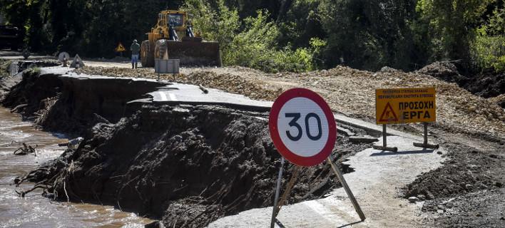 Αποκαθίσταται η κυκλοφορία, Φωτογραφία: EUROKINISSI/ΤΑΤΙΑΝΑ ΜΠΟΛΑΡΗ