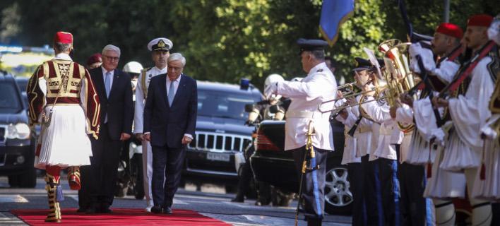 Διημερη επίσκεψη του Γερμανού Πρόεδρου στην Ελλάδα, Φωτογραφίες: EUROKINISSI/ΓΙΩΡΓΟΣ ΚΟΝΤΑΡΙΝΗΣ