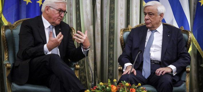 Τετ α τετ στο Προεδρικό Μέγαρο, φωτογραφία: EUROKINISSI/ΓΙΩΡΓΟΣ ΚΟΝΤΑΡΙΝΗΣ