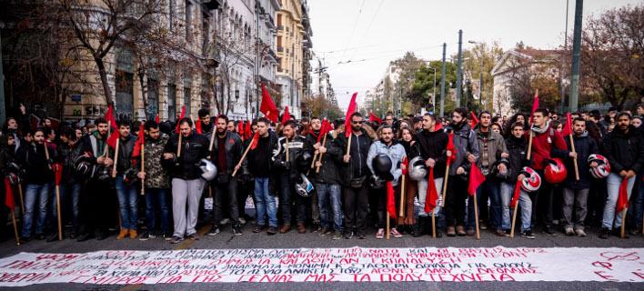 Πορεία, EUROKINISSI/ΓΙΩΡΓΟΣ ΚΟΝΤΑΡΙΝΗΣ