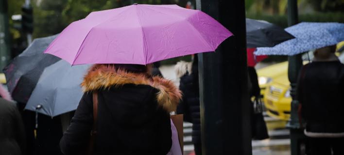 Βροχή, EUROKINISSI/ΓΙΑΝΝΗΣ ΠΑΝΑΓΟΠΟΥΛΟΣ
