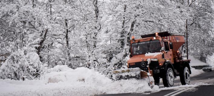 Χιόνια, φωτογραφία: EUROKINISSI/ΑΝΤΩΝΗΣ ΝΙΚΟΛΟΠΟΥΛΟΣ