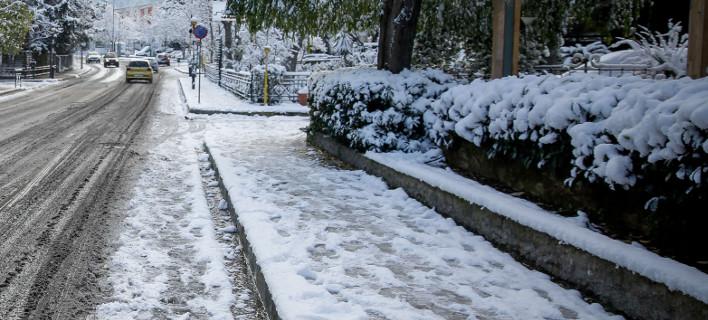 Χιόνι, φωτογραφία: EUROKINISSI/ΣΤΕΛΙΟΣ ΜΙΣΙΝΑΣ