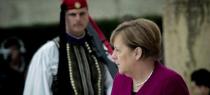 Ανγκελα Μερκελ, φωτογραφία: EUROKINISSI/ΧΡΗΣΤΟΣ ΜΠΟΝΗΣ