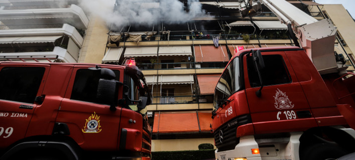 Σέρρες: Φωτιά σε διαμέρισμα -6 άτομα στο νοσοκομείο