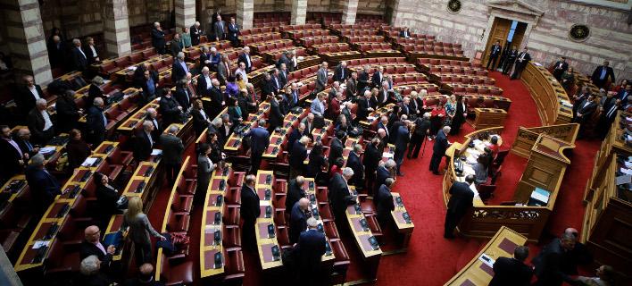Βουλή, φωτογραφία: EUROKINISSI/ΓΙΩΡΓΟΣ ΚΟΝΤΑΡΙΝΗΣ