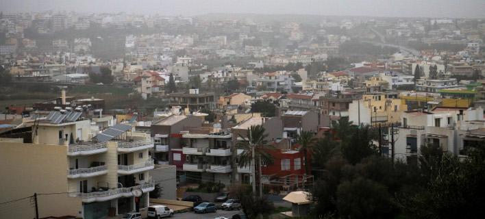 Σκόνη στην Αθήνα, φωτογραφία: EUROKINISSI/ΣΤΕΦΑΝΟΣ ΡΑΠΑΝΗΣ