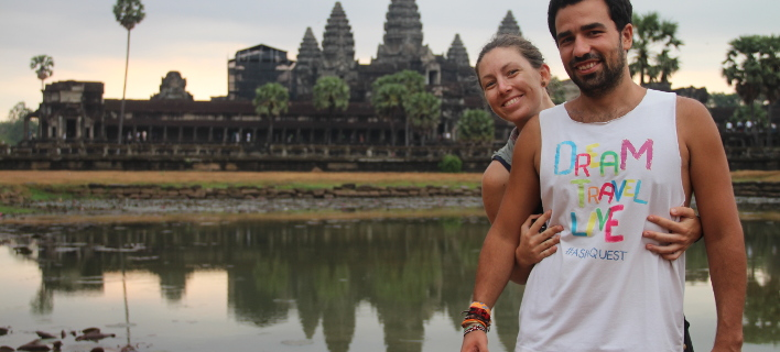 Ταξίδεψαν σε 11 χώρες της Ασίας με 10 ευρώ την ημέρα και δούλευαν ως εθελοντές [εικόνες]