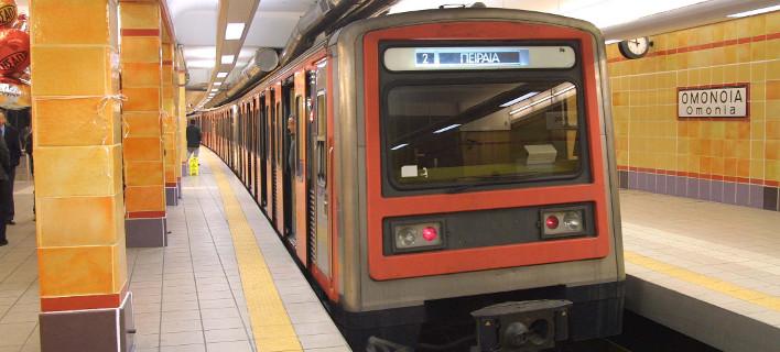 Ατυχημα στο μετρό Ομόνοιας, φωτογραφία: eurokinissi