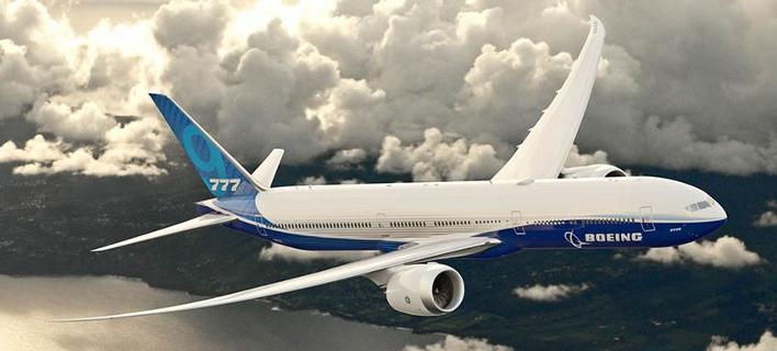 Η  Boeing Business Jets παρουσίασε το 777x την περασμένη Δευτέρα στο Ντουμπάι (Φωτογραφία: Boeing)