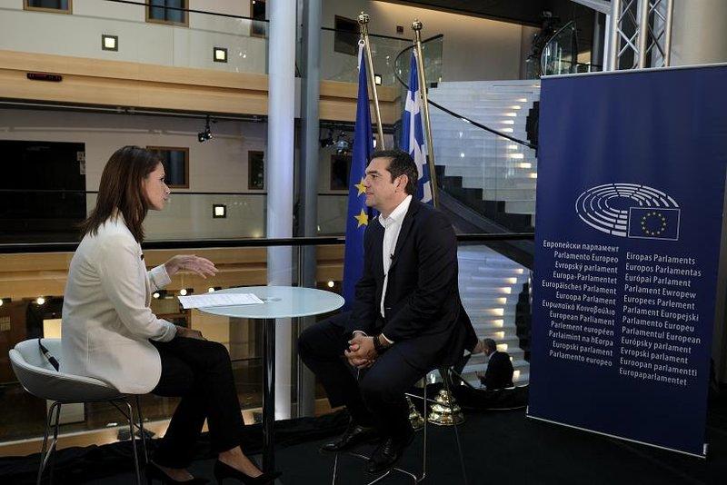 Συνέντευξη του πρωθυπουργού /Φωτογραφία Euronews