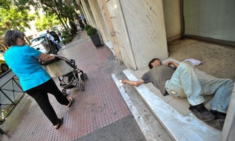 Guardian: Ανθρωποι άστεγοι στον δρόμο που πριν είχαν μια καλή δουλειά  Πηγή: Guardian: Ανθρωποι άστεγοι στον δρόμο που πριν είχαν μια καλή δουλειά