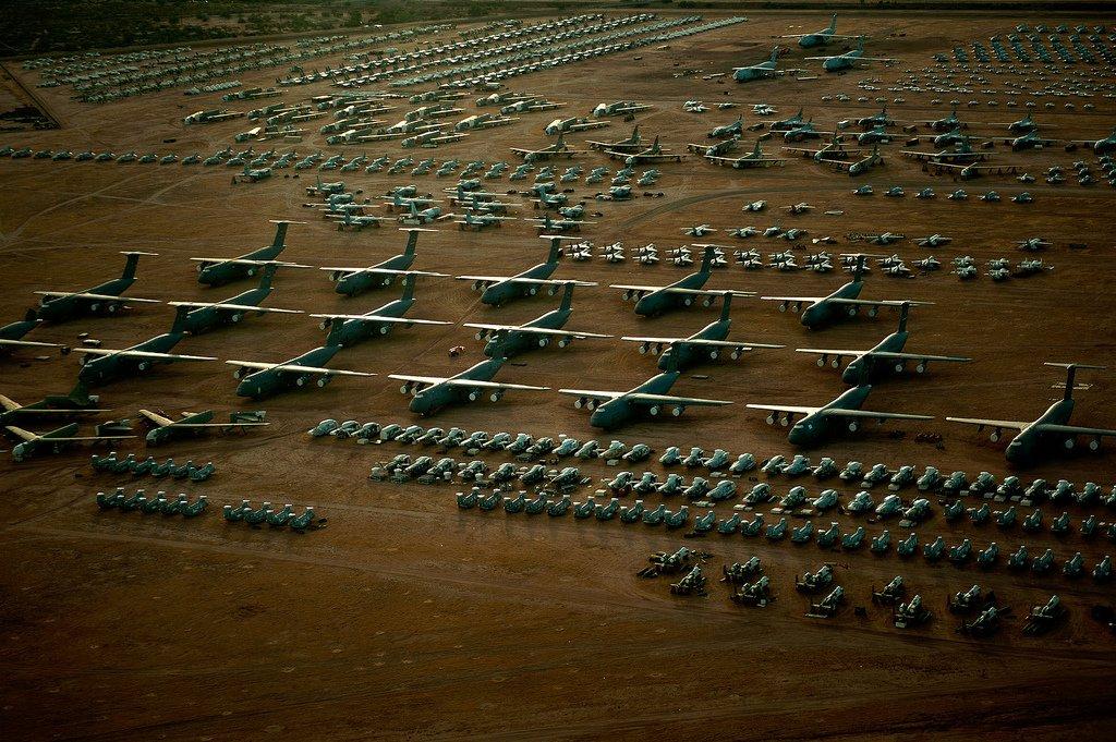 Αποτέλεσμα εικόνας για νεκροταφειο αεροπλάνων ΗΠΑ