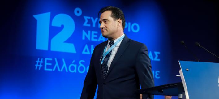 Ο Αδωνις Γεωργιάδης/ Φωτογραφία: EUROKINISSI- ΓΙΩΡΓΟΣ ΚΟΝΤΑΡΙΝΗΣ