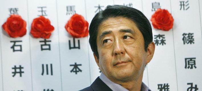 Αποτέλεσμα εικόνας για ιαπωνια αμπε εκλογες