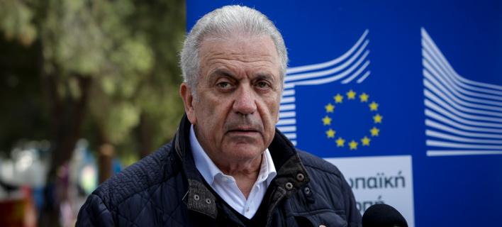 Δημήτρης Αβραμόπουλος/Φωτογραφία: Eurokinissi