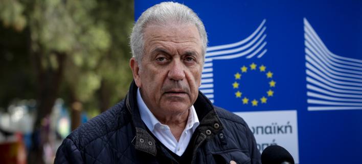 Δημήτρης Αβραμόπουλος (Φωτογραφία: EUROKINISSI/ΣΤΕΛΙΟΣ ΜΙΣΙΝΑΣ)